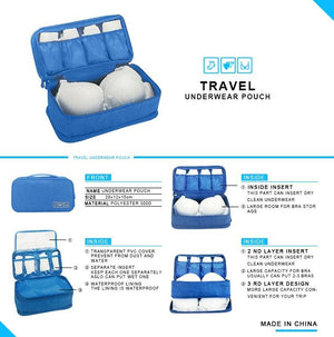 Cable and Underwear Organizer Bag - SET