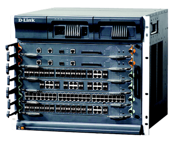 D-Link  DES-8510E  10-Slot Carrier-Level Core Routing Chassis Switches
