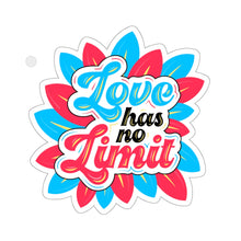 Load image into Gallery viewer, Love has no Limit Polyamory Sticker