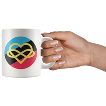 Load image into Gallery viewer, Polyamory Infinity Heart Mug