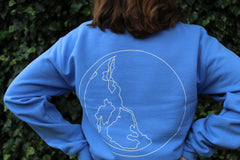 Shape of Silence: Limited edition blue sweatshirt