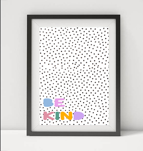 BE KIND POLKA DOT
