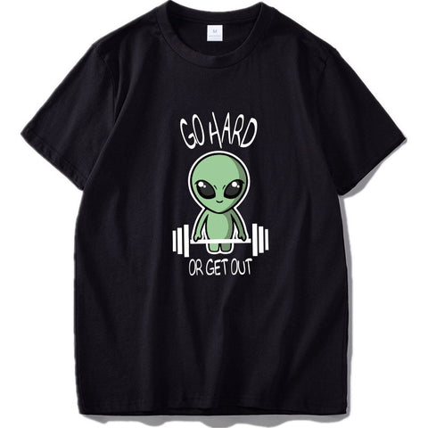 Alien T-Shirt <br> Go Hard