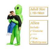 Alien Costume <br> Pick Me Up Adult