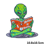 Alien Patch <br> Alien Reading Book