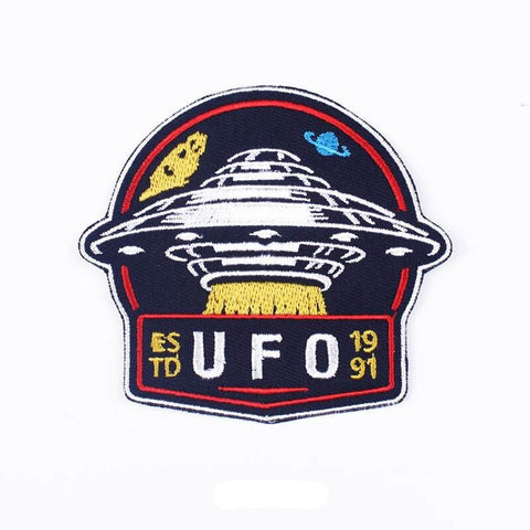 UFO in Galaxy Patch