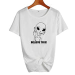 Believe This Alien T-Shirt White