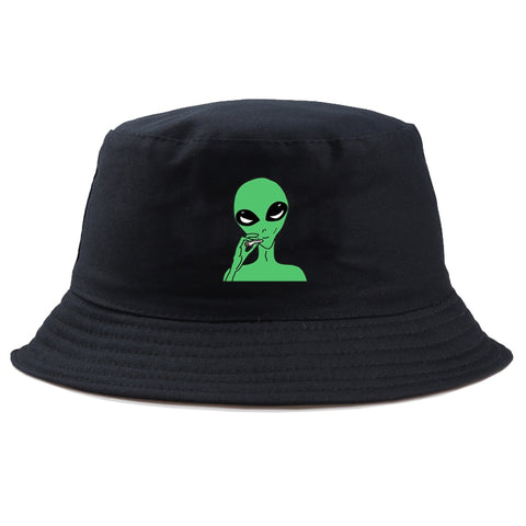 Alien Hat <br> Smoking Alien