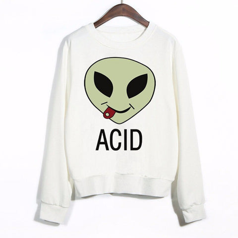 Acid Alien Sweater