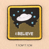 Alien Patch <br> I Believe Square
