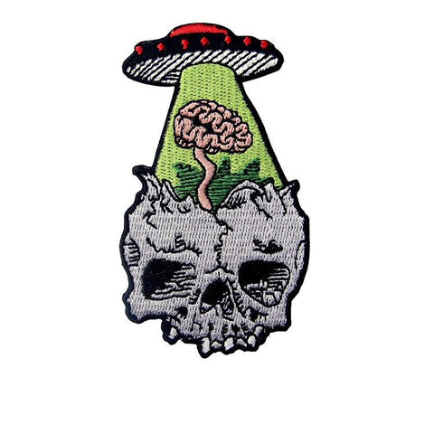 Kidnapped Brain UFO Patch