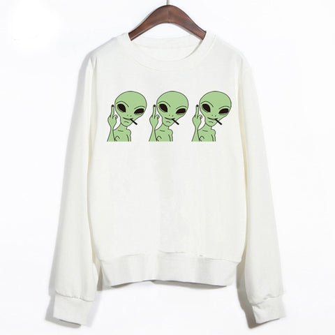 Triple Alien Sweater