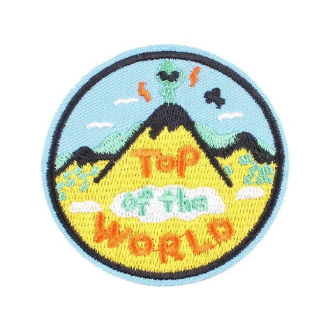 Top of the World Alien Patch