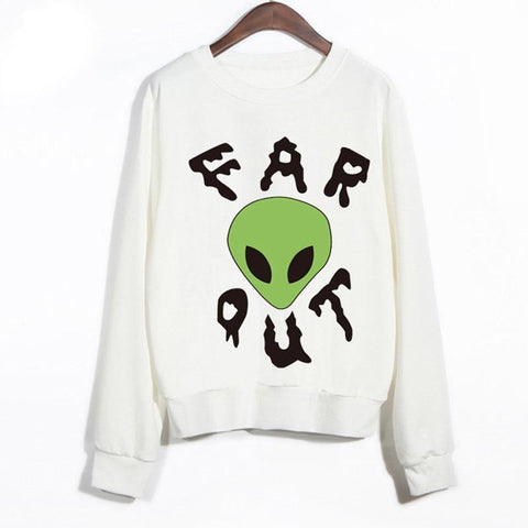 Far out Alien Hoodie