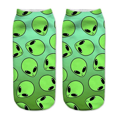 Aliens Head Socks