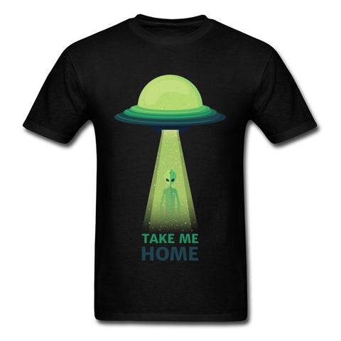 Take Me Home Alien T-Shirt Black