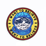 Astroanut I Want To Believe Patch