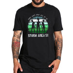 Storm Area 51 Alien T-shirt Black