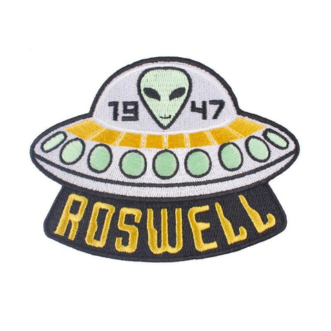 Roswell Alien Patch