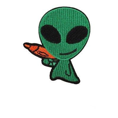 Alien with Pistol Patch