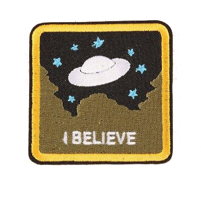 I Believe Square Patch