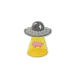 Kidnapped Pig UFO Patch