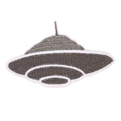 Flying Object Alien Patch