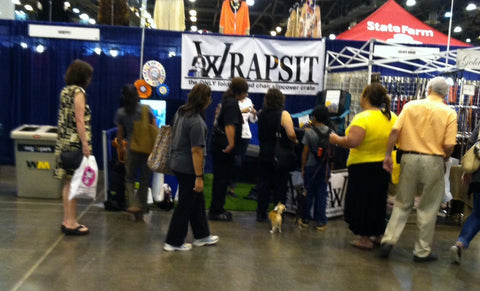 Houston World Series of Dog Shows loves Wrapsit™ slipcover crate by LeisureEase, LLC.