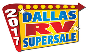 The 2017 Dallas RV SuperSale logo.