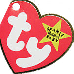 Ty Beanie baby Tag for pet Halloween costume