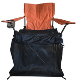 Small Orange Academy of Sports Chair with Wrapsit