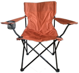 Small orange Academy of Sports Chair