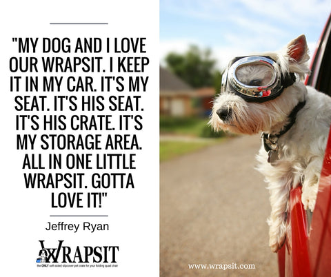 Wrapsit travel pet crate testimonial