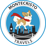 Montecristo Travels blogs about a little chihuahua on international adventures and Wrapsit slipcover soft crate.
