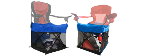 wrapsit covered chairs with sleeping pele and stuff leisure easy pets blog