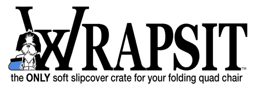 Soft-sided pet crate | Wrapsit  logo