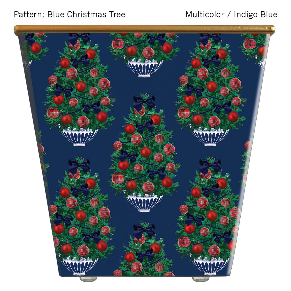 Load image into Gallery viewer, Blue Tartan Christmas Tree