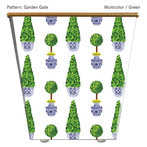 Load image into Gallery viewer, Standard Cachepot Container: Garden Gate