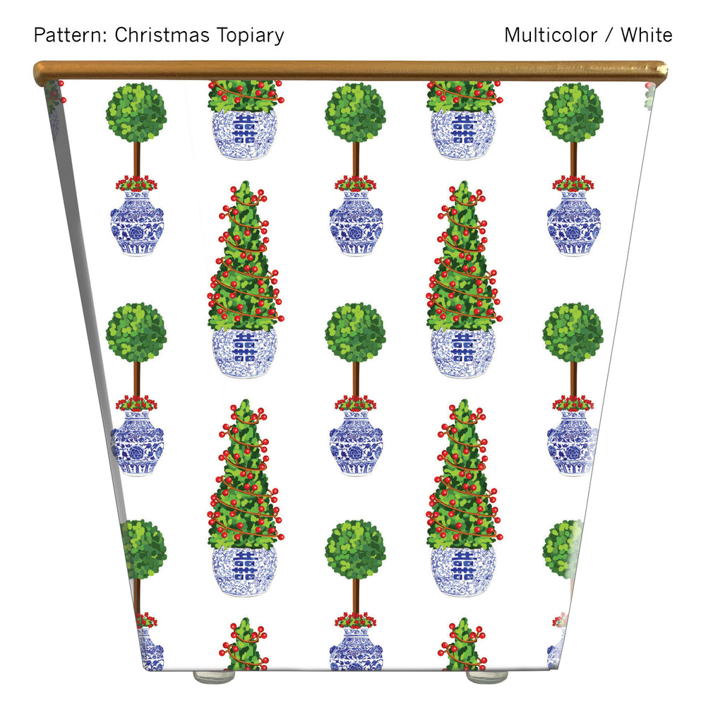 Standard Cachepot Container: Christmas Topiary