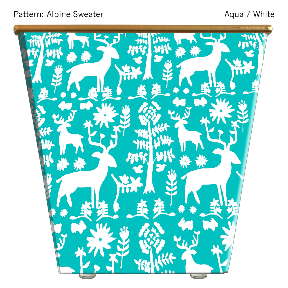 Load image into Gallery viewer, Standard Cachepot Container: Alpine Sweater