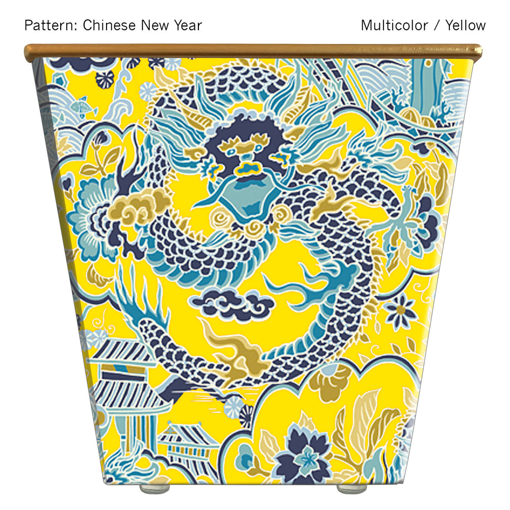 Standard Cachepot Container: Chinese New Year