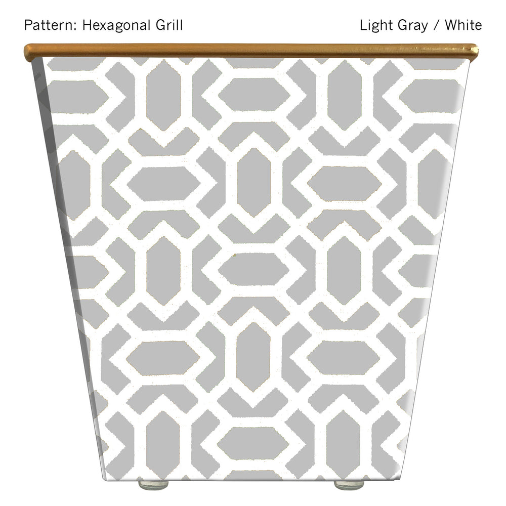 Load image into Gallery viewer, Standard Cachepot Container: Hexagonal Grill