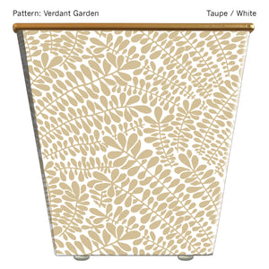 Large Cachepot Container: Verdant Garden