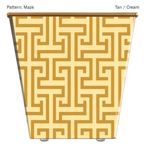 Load image into Gallery viewer, Standard Cachepot Container: Maze
