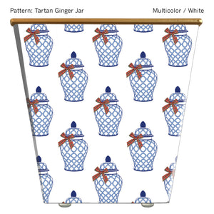Load image into Gallery viewer, Tartan Ginger Jar