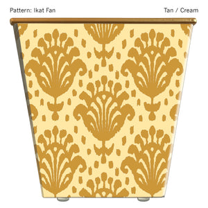 Load image into Gallery viewer, Standard Cachepot Container: Ikat Fan