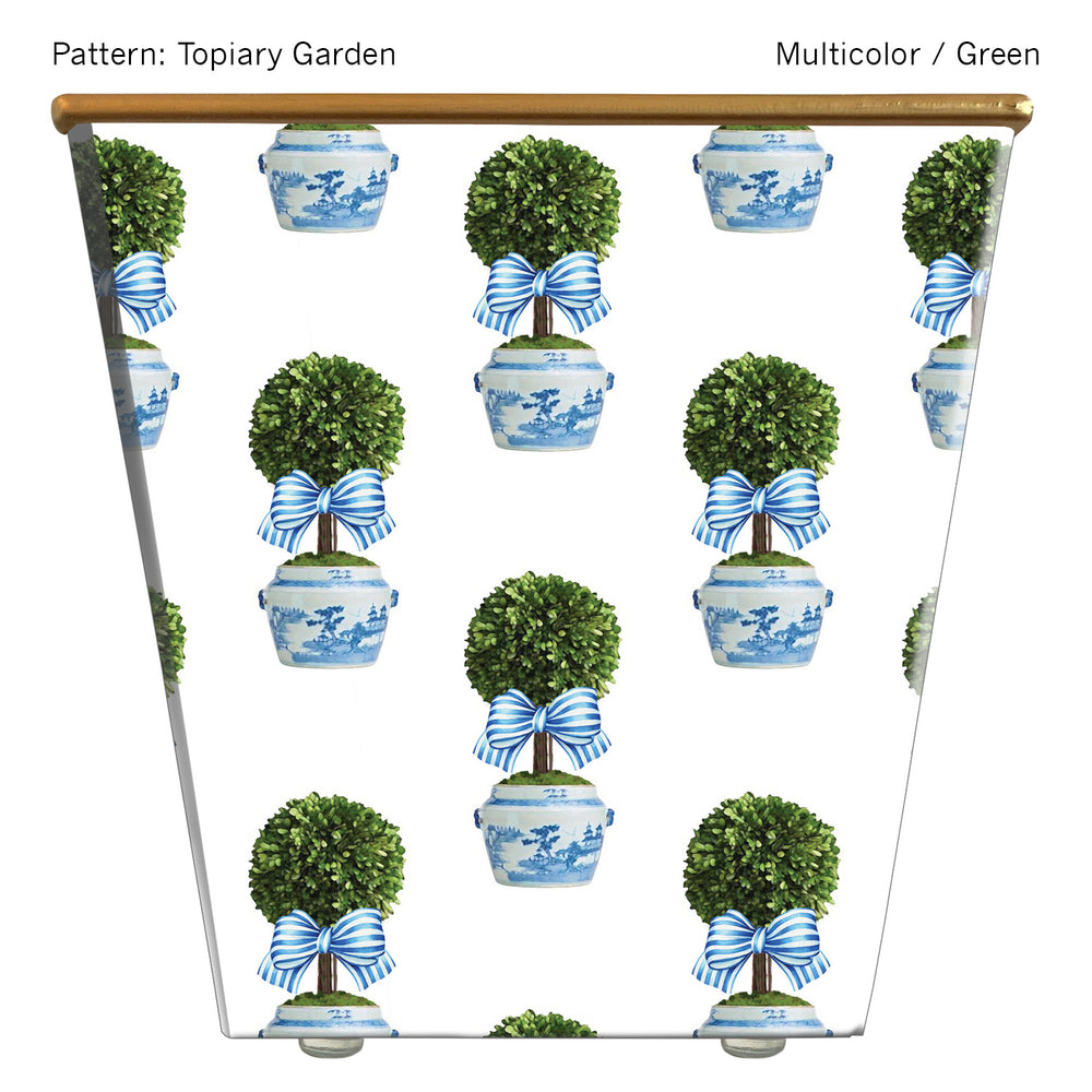 Standard Cachepot Container: Topiary Garden