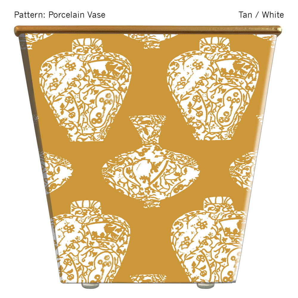 Load image into Gallery viewer, Standard Cachepot Container: Porcelain Vase