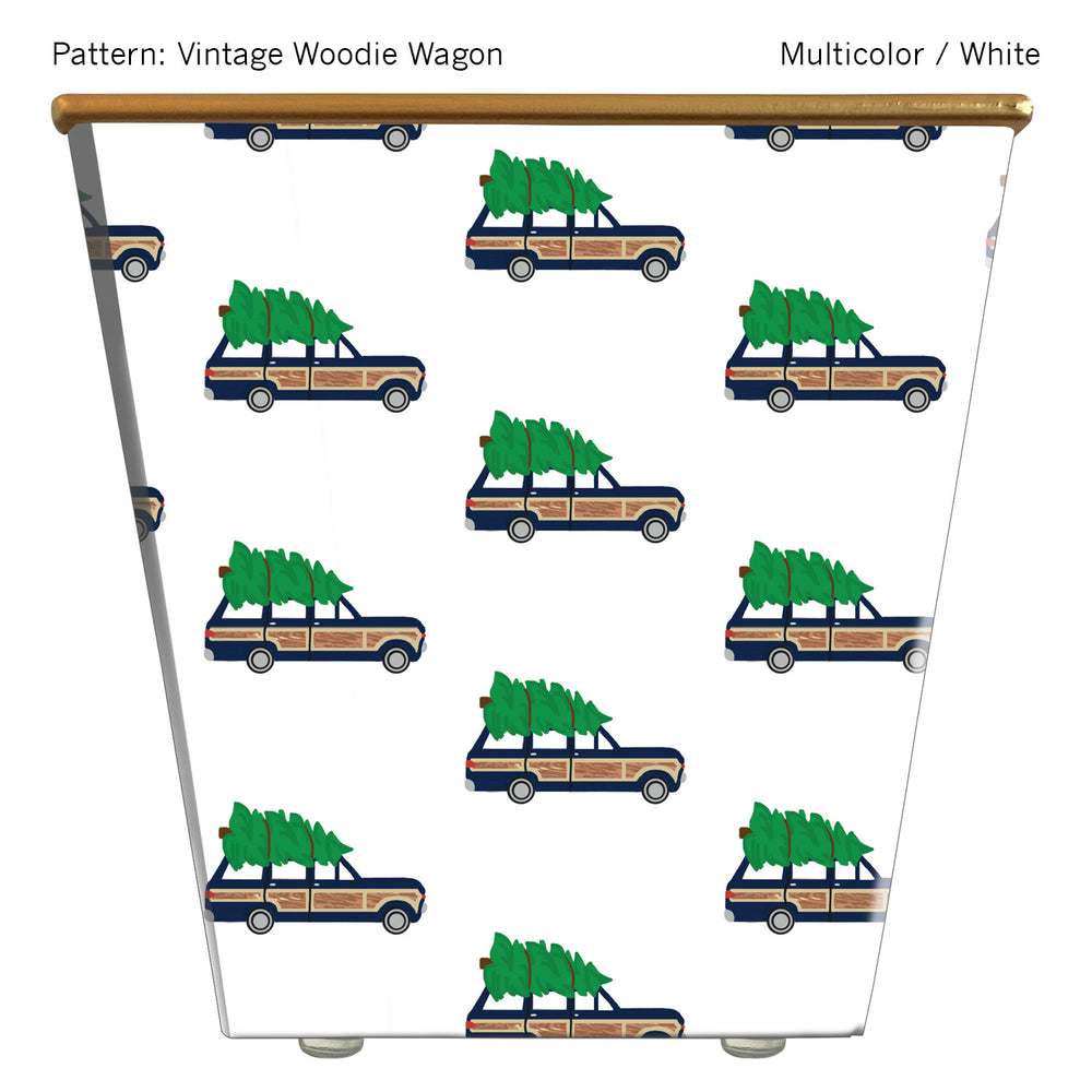Load image into Gallery viewer, Standard Cachepot Container: Vintage Woodie Wagon