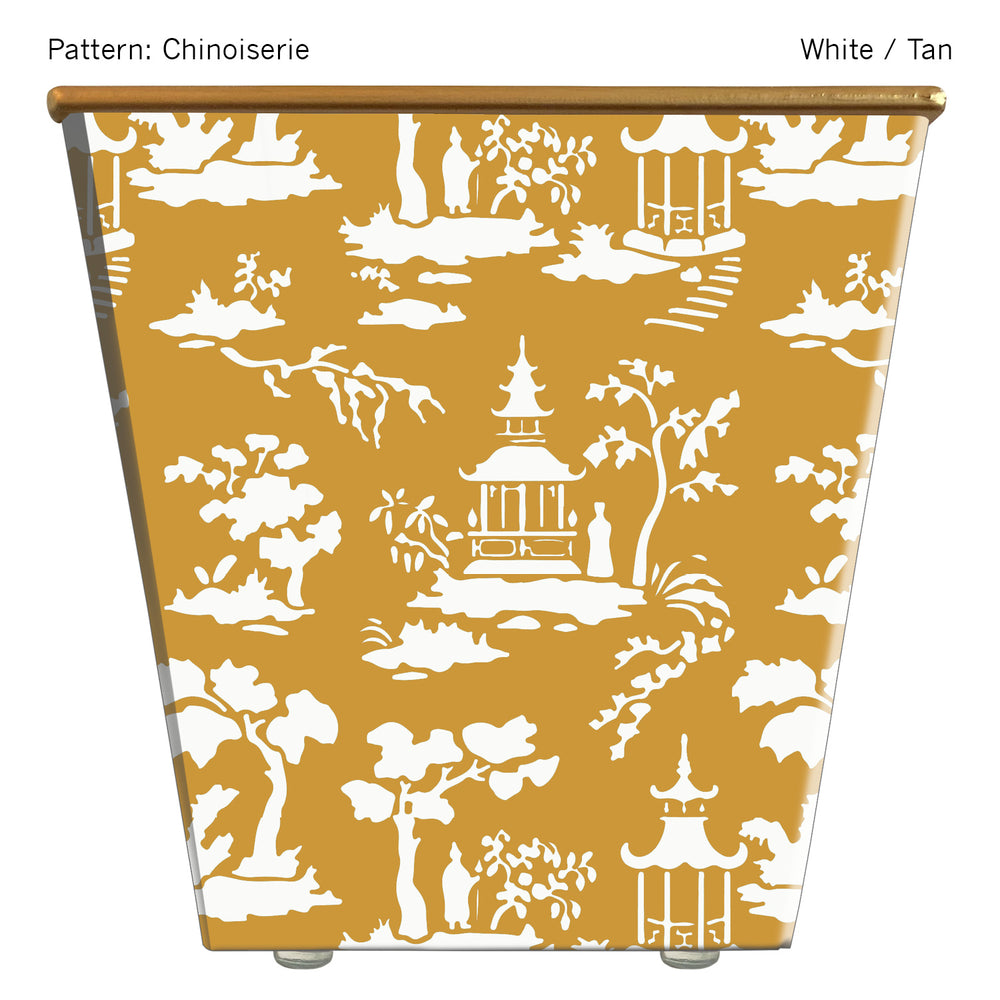 Load image into Gallery viewer, Standard Cachepot Container: Chinoiserie